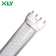 18W 415mm Frosted or Clear Cover 4pin PL Lamp 2100LM 82Ra Led Tube Light Replace Fluorescent Lamp 2G11 DHL Free Shipping