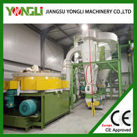 Advanced Adjustable complete wood pellet production line leading manufacture in china