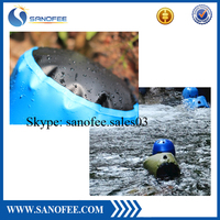 PVC tarpaulin 0.5mm waterproof camping bag for swimming camping outdoor sports