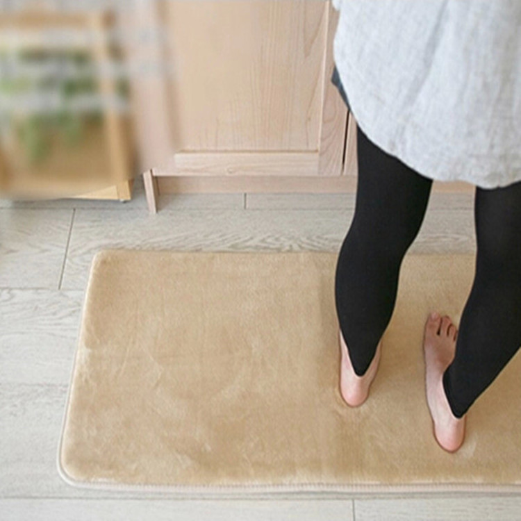 Home interior design anti fatigue kitchen mat