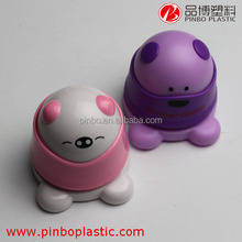 mini cute funny animal electric staple free stapler,hot selling plastic stapler without staples