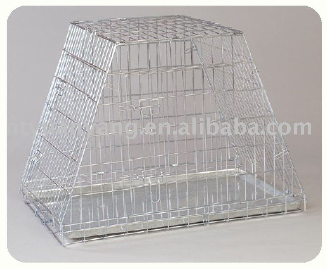 foldable zinc wire metal dog cage dog crate dog kennel