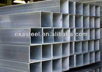 ERW GI rectangular steel tube