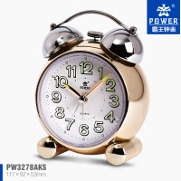 MINI style double bells alarm clock for home decoration