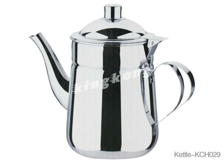 STAINLESS STEEL TEA POT AND KETTLE SET