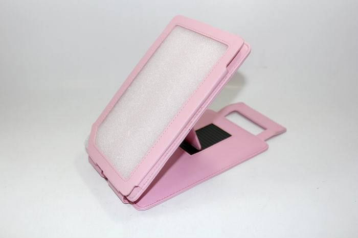 Leather Pouch Case Cover With Stand For Barnes & Noble Nook Color