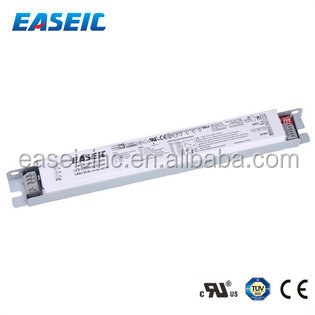 China Supply UL TUV approved Constant Current 0-10v dimming /900mA/1000mA/ 1050mA 50W Slim LED Driver for T8 Led tube driver
