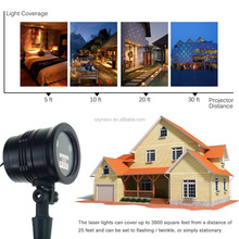 NEW Green Laser LED Projector Light Christmas Light Show Outdoor Waterproof Colorful LED Laser Light