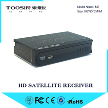 Vmade new arrival full HD TV satellite receiver M5 MPEG4 modulator with WIFI