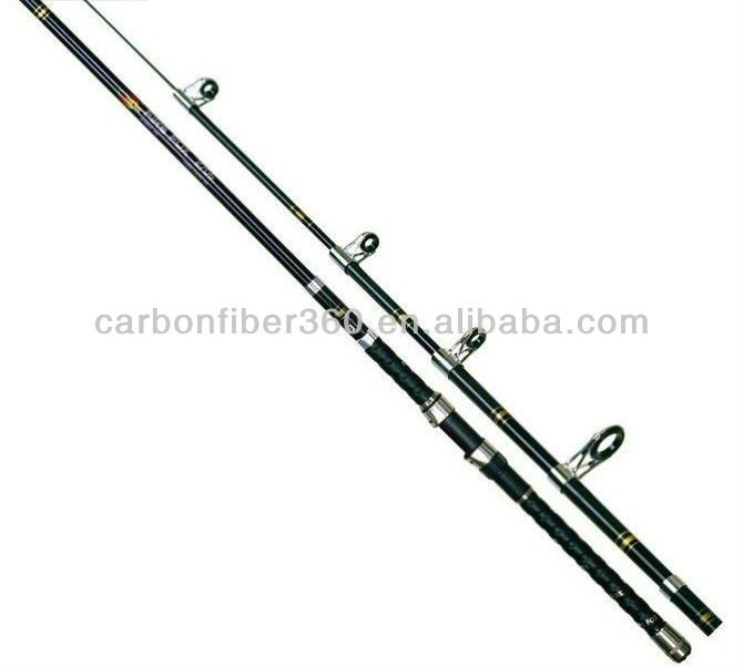 transparent fiberglass fishing rods blanks