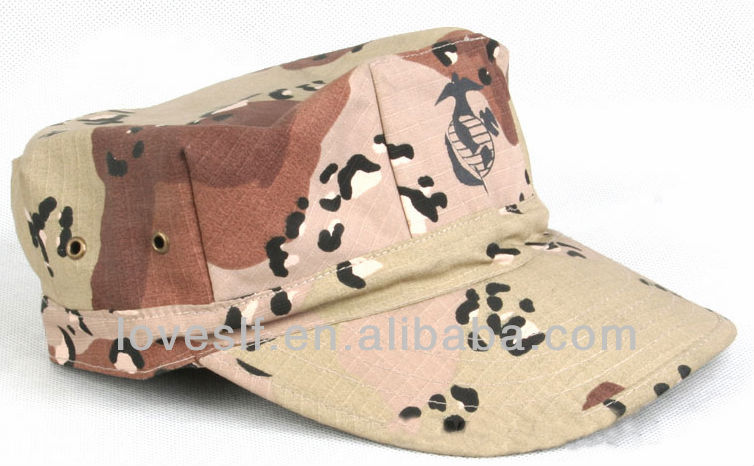 Loveslf china manufacturer Edie outdoor military hats and caps camouflage Octagonal cap