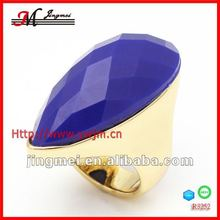 R3252 Jingmei blue enamel OEM unique nativa gems ring