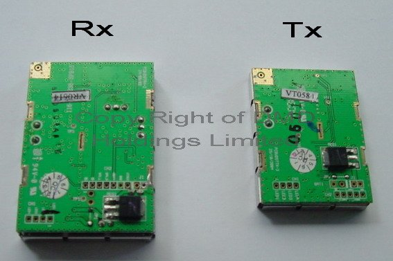 2.4GHz Wireless Audio Video modules