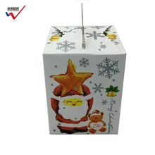 Fashion Design Customized Cartoon Paper Cupcake Box