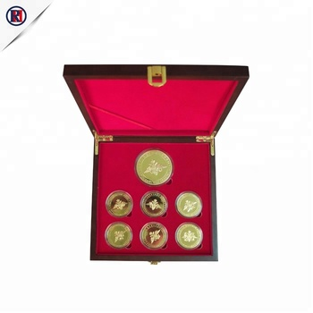 Factory price OEM brand wood box packaging Custom Coin Box with Coin storage box
