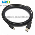 high quality fashion 5 wire micro mini usb cable