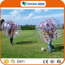 Professional factory bubble soccer ball also call inflatable balls for human people bubble soccer balloon