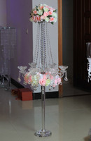 New ! wedding candelabra floor stands and wedding floor flower stand decoration