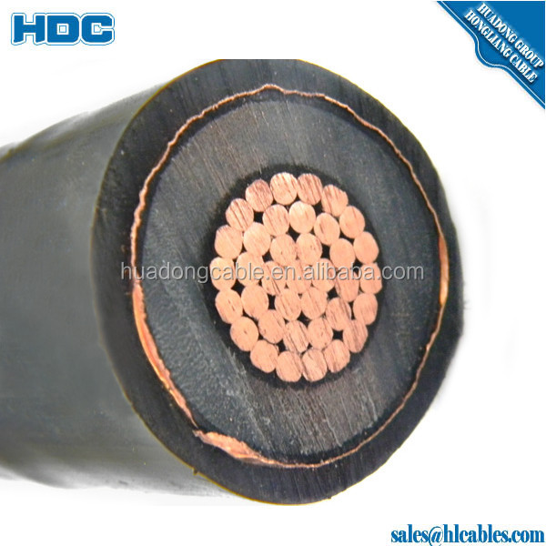 underground XLPE copper armoured Power cable 185 sq mm power cables