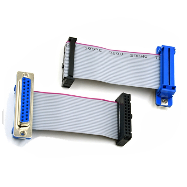 ul approved 2651 26 pin idc parallel to vga cable 30cm
