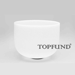 TOPFUND Fused Silica quartz crucible 12 inch for Melting (305mm*305mm)