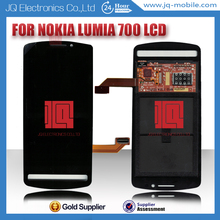 cell phone spare parts lcd for nokia lumia 700 digitizer with cheap price