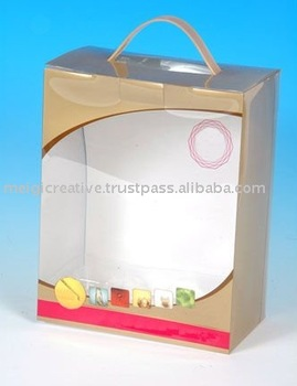 Custom Printed Folding Box with Handle