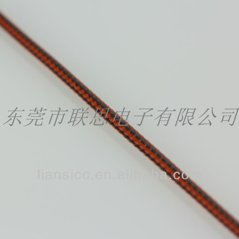 Electronical insulating mesh sleeving