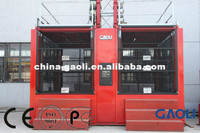 Frequency Motor Electric Single Cage Construction Elevator / Hoist / Lift with CE & GOST Certificate