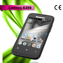 lenovo a269 dual sim card dual standby ram 512mb rom 256mb android 2.3 cheap price cell phones for old man
