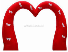 New arrival inflatable wedding heart arch event arch