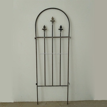 fencing supplies metal flower trellis with arch top modern wrought iron garden fence