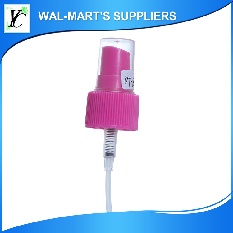 hot sale cosmetic manufacturer portable mist spray pump , nasal spray bottle