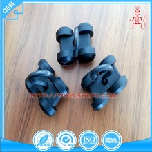 Pulley slide lagging nylon timing belt pulleys for curtains