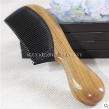 Hair Straightening Brush Black Horn Tooth Comb Latest Deisgn