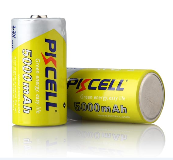 OEM Brand 1.2V 5000mAh Rechargeable Battery 1.2V Type C Ni-MH Battery