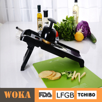 Hot Selling High Quality Plastic Vegetable Slicer V-blade Slicer Hand Guard Mandolin Slicer
