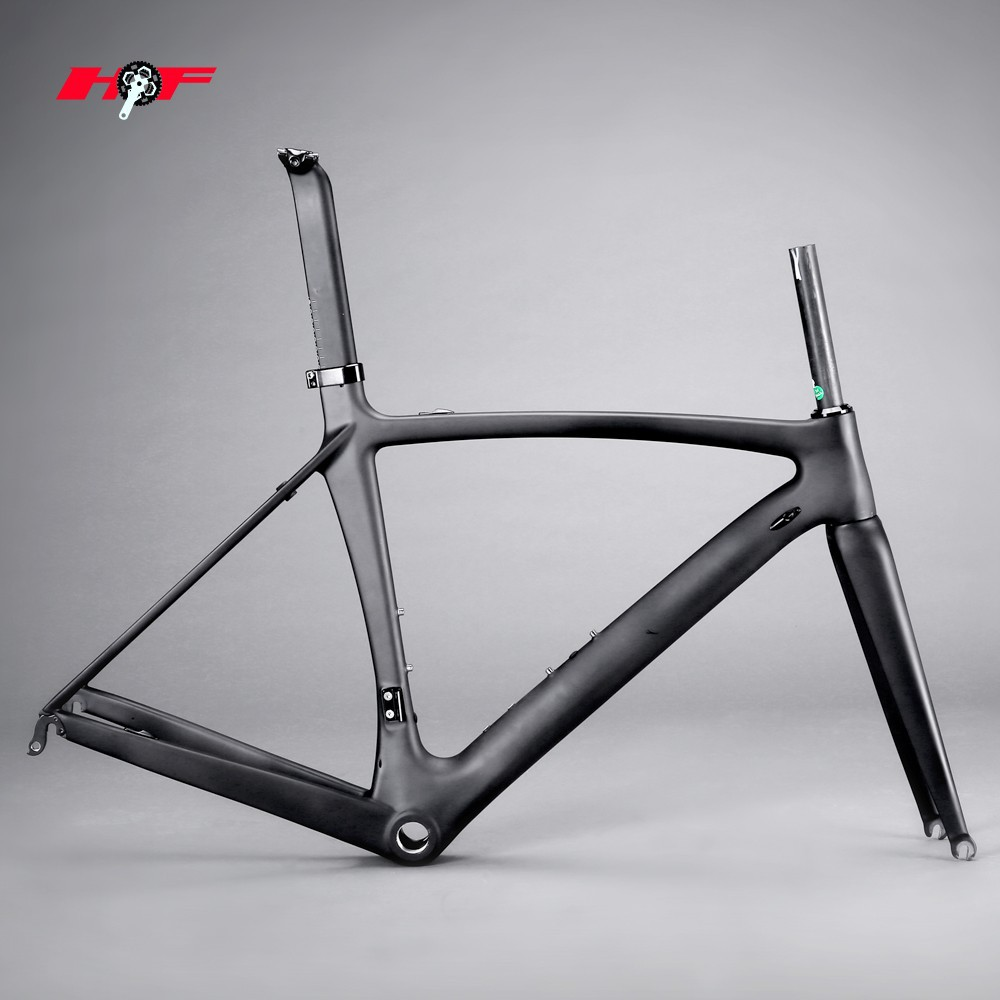 High-End aero designed carbon road frame&DI2 bicycle frame carbon road&700c road racing carbon frame road bike FM139