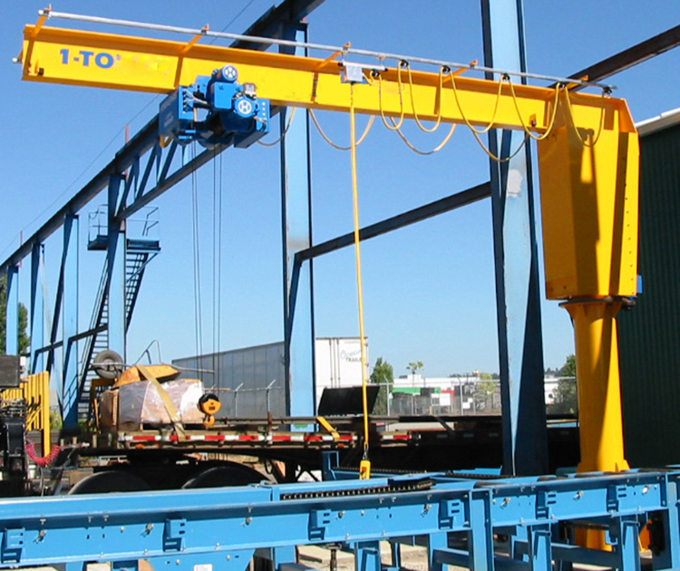 Quality assured jib crane 1 ton