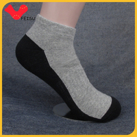 Manufacturer customized sporty mens low cut athletic socks 100 cotton