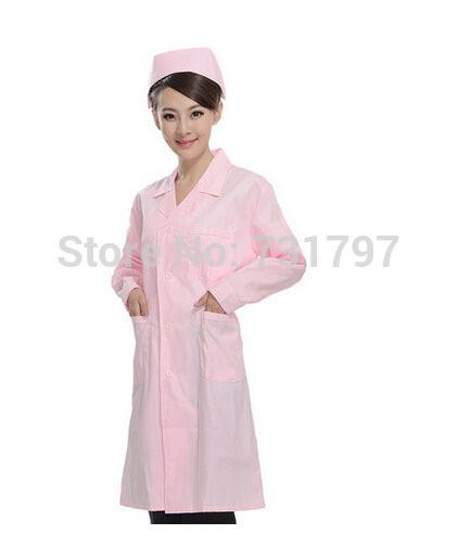Woman Nurse Uniform Doctor Nurse Clothes Medical Lab Scrub Coat
