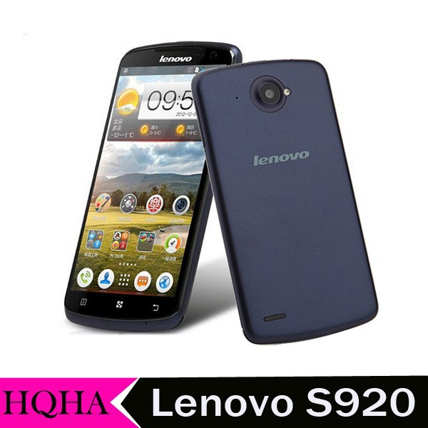 Original Lenovo S920 smartphone 5.3 IPS 1280x720 MTK6589 Quad core WCDMA Mobile phone