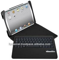Naztech Sleek Portfolio Case with Detachable Bluetooth Keyboard for iPad Air - Black