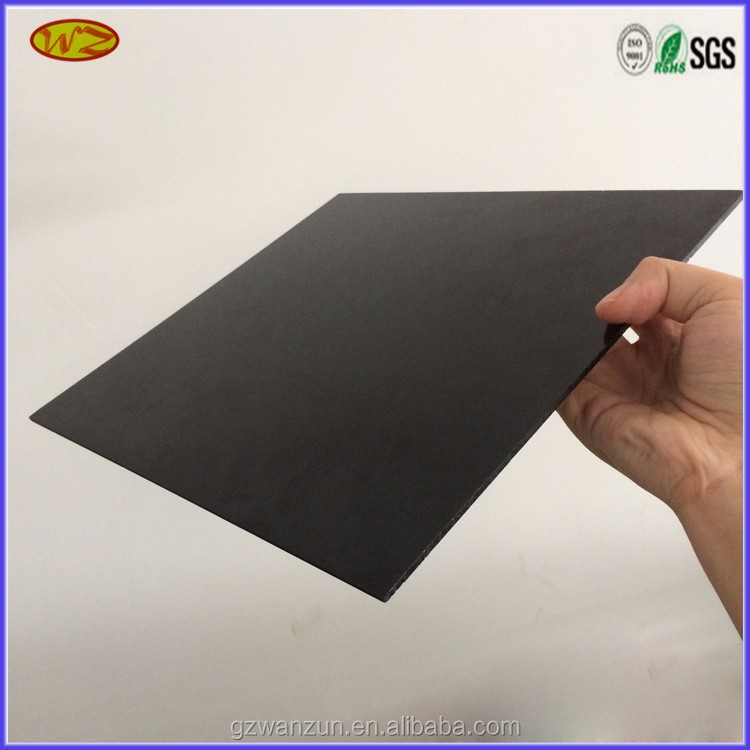 anti scratch rigid hard black pvc lamination sheet