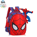 custom size boys like spiderman waterproof nylon kindergarten backpack bag school