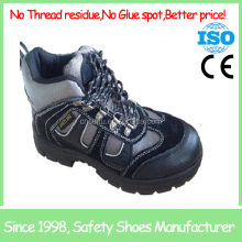 buffalo leather safety shoes anti-slip soles cow leather upper sports safety shoes SF19001