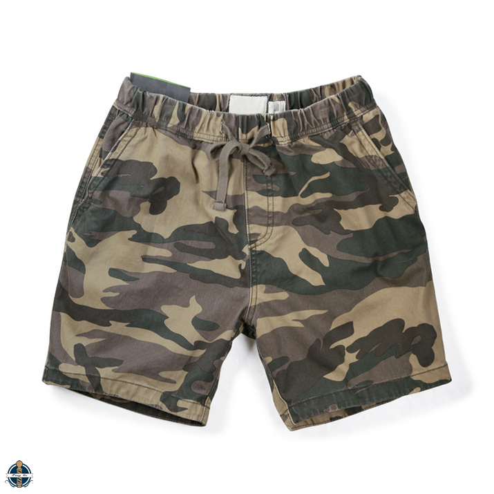 T-MS017 Fashion Camouflage Washed Army Men Shorts