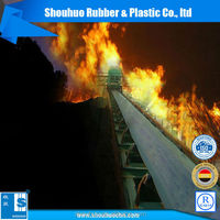 EP500 500mm flame resistant rubber conveyor belt