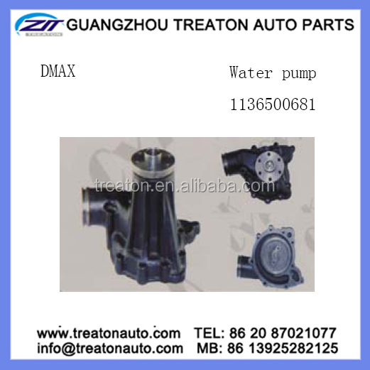 WATER PUMP 1136500681 FOR D-MAX EX300-5 6SD1T