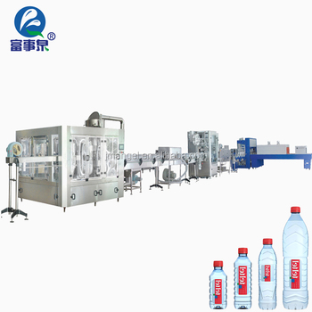 BV Certified full automatic pet bottle drinking mineral water plant filling machinery